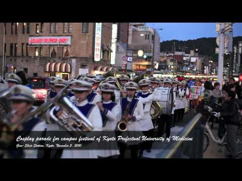 [Full HD][1080p]Cosplay parade of campus festival of Kyoto Prefectural University of Medicine