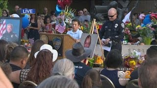 Hundreds Gather To Honor Fallen Palm Springs Police Officers