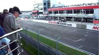 2012 FIM World Superbike Championship, Moscow Raceway (Финиш первой гонки)