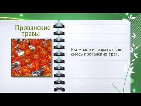 Кулинарная энциклопедия - Прованские травы