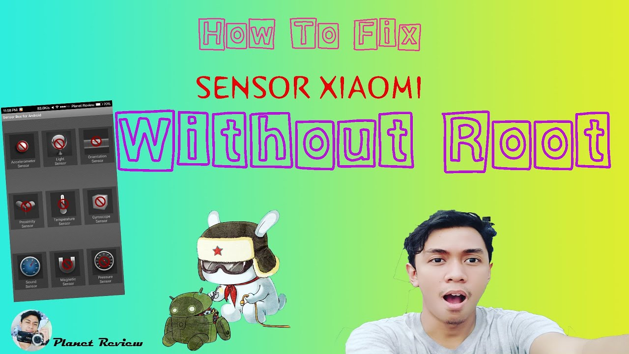 How to fix Xiaomi Sensor ( Without Root )