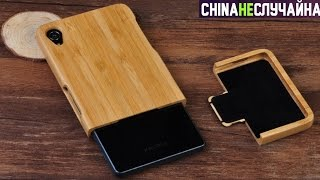 ШОК! Деревянный чехол для телефона и ещё несколько посылок из Китая с сайта AliExpress