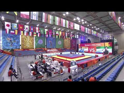 15th World Wushu Championships – Sanda – Day 2 – Afternoon Session – W56, W60, M65, M70, M75, M90+