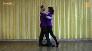 Zouk tanzen lernen. E-zouki 1. Grundschritt. Learn to dance zouk. Aprender a bailar zouk.