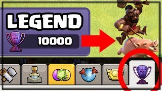 10,000 LEGEND League TROPHY SHOP? Clash of Clans Update Concept 2019