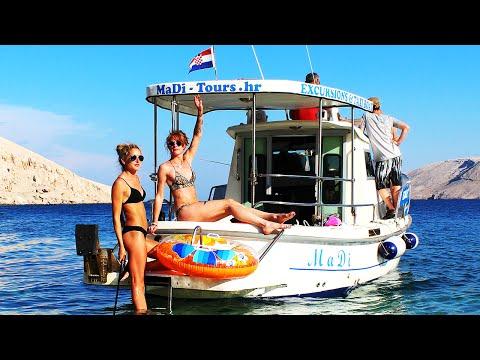 Boat Trip Holiday Croatia 2015 | MaDi Tours Karlobag - Pag | GoPro