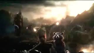 Avengers endgame captain marvel enter
