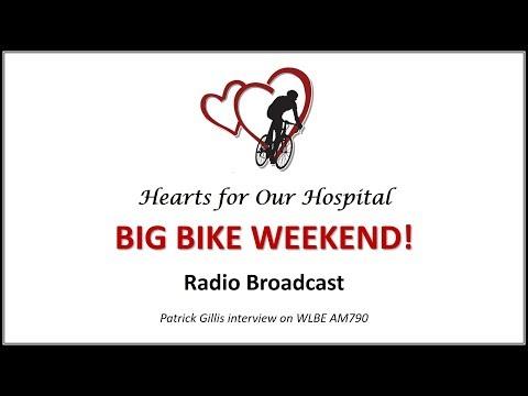 Hearts for Our Hospital Big Bike Weekend Radio Broadcast