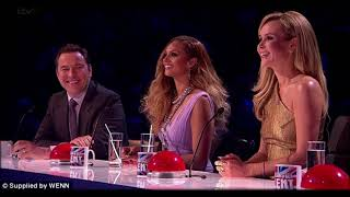 Alesha Dixon caught out brazenly staring at Amanda Holden's boobs ahead of Britain's Got Talent audi