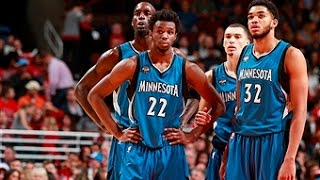 Andrew Wiggins Drops a Season High 31 on the Bulls
