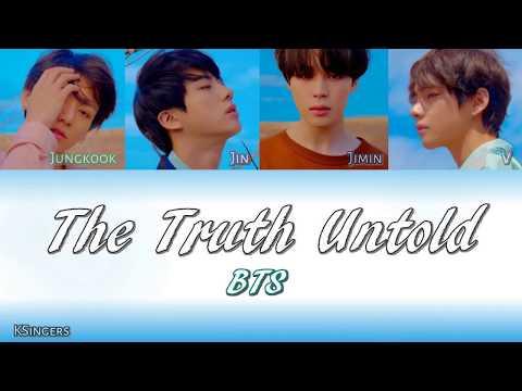 BTS - The Truth Untold (전하지 못한 진심) (feat. Steve Aoki)   Sub (Han - Rom - Español) Color Coded Letra