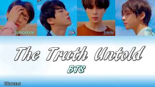 BTS - The Truth Untold (전하지 못한 진심) (feat. Steve Aoki) | Sub (Han - Rom - Español) Color Coded Letra