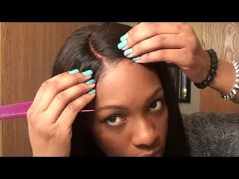DIY Bleach Knots on Lace Closures
