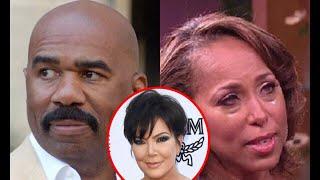 Exposed! Steve Harvey Caught Texting Kris Jenner | $400 Million Dollar Divorce To Marjorie