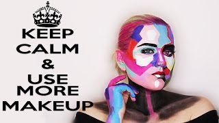 #FaceawardsRUSSIA2017 POP ART POSTER GIRL makeup
