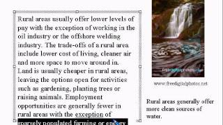 Advanced Learning English Lesson 3   City Vs Rural Life   Vocabulary And Pronunciation