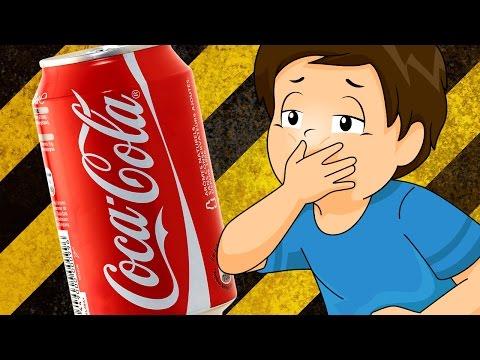 Болит живот после газированных напитков