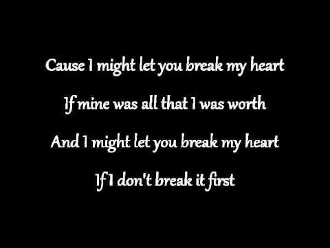 Car crash lyrics by Anna Nalick