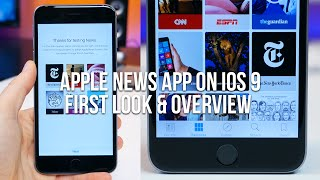 Gambar cover Apple News app on iOS 9 First Look and Overview