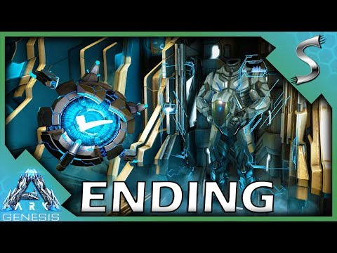 ARK GENESIS ENDING! DEFEATING THE FINAL BOSS & EXITING THE SIMULATION! - Ark: Genesis DLC