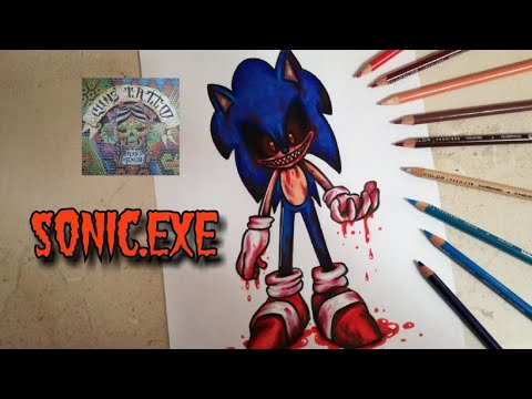Como Dibujar A Sonic Exe How To Dra Sonic Exe