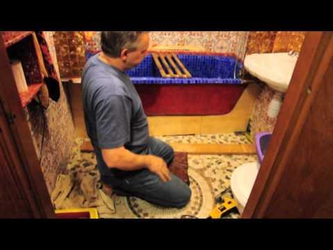 видео: Ширма-экран под ванну.