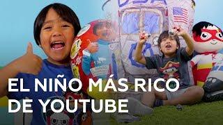 Este niño gana 22 millones de dólares al año en Youtube