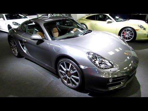 2014 Porsche Cayman - Exterior Walkaround - 2013 Montreal Auto Show