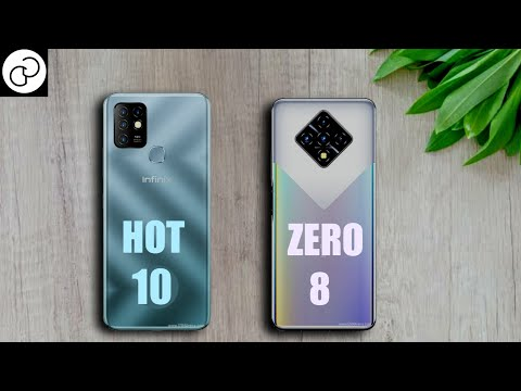 Infinix Hot 10 vs Infinix Zero 8