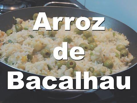 Como fazer arroz de Bacalhau | Refeição a Dois #6