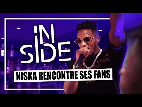 Youtube: NISKA à la rencontre de ses fans pendant la sortie de«Mr Sal» – OKLM Inside