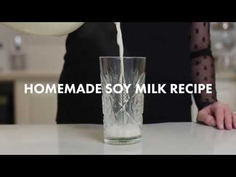 Recipe: How To Make Your Own Soy Milk