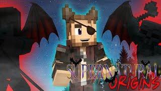 VAMPIRE FRIENDS? Minecraft Supernatural Origins #32 (Werewolf Modded Roleplay)