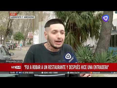 DENUNCIÓ EN VIVO QUE LO OBLIGARON A ROBAR Y FUE DETENIDO