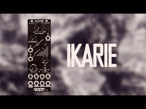 Ikarie by Casper x Bastl – a uniquely sculpted, flexible stereo/dual peak filter module