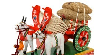 how to make bullock cart with thermocol