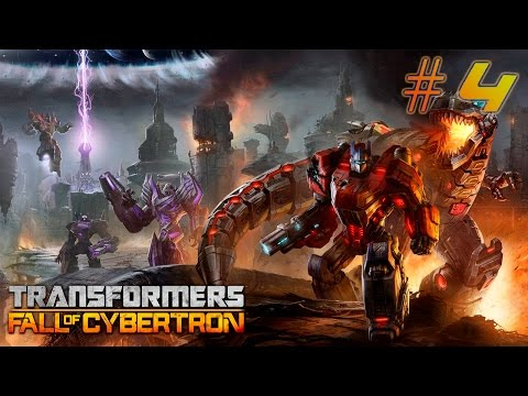 Transformers Fall of Cybertron [Walkthrough] PART 4