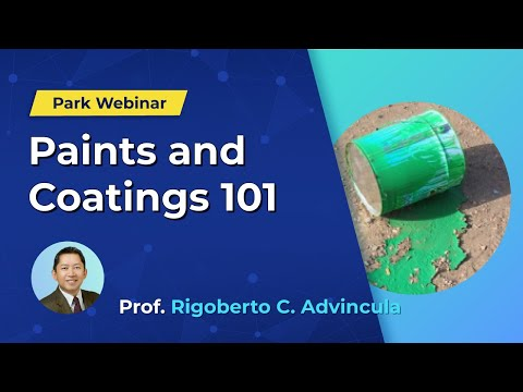 Park Systems Webinar: Paints And Coatings 101