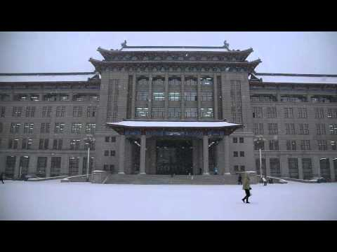 Harbin Engineering University in Snow#2 [HD]
