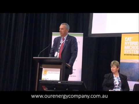 Our Energy presenting at Solar and Storage Conference May 2017