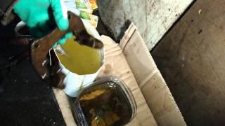 Чистка суппортров от ржавчины кислотой и методом электролиза