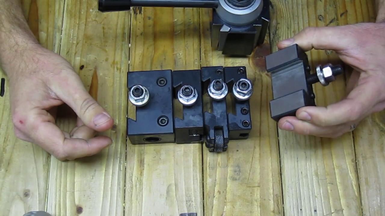 "BOSTAR AXA Size 250-111 Wedge Type Tool Post Tool Holders Set for Lathe 6-12/"""