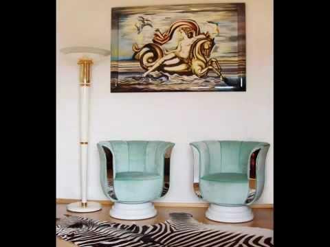 art deco lampen m nchen und berlin togo lampen lamps m bel furniture youtube. Black Bedroom Furniture Sets. Home Design Ideas