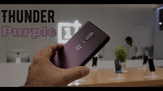 OnePlus 6T Thunder Purple Unboxing from OnePlus Store Seawoods Grand Central Mall, Navi Mumbai