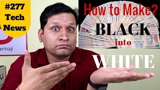 #277 how to make black to white money, sony rx100v, gionee s9, nikon d5600, cm14.1, laptop broken