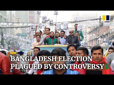 Violence, intimidation and arrests ahead of Bangladesh national elections