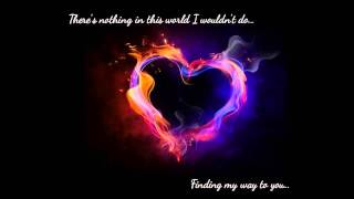 Finding my way to you- David Nail