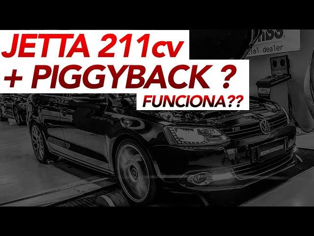 JETTA 211cv COM PIGGYBACK. FUNCIONA?? | NPC Performance