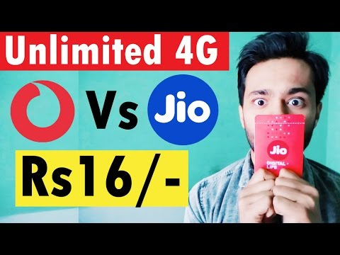 Vodafone Vs Jio | Vodafone announced SuperHour 4G Offer at Rs16