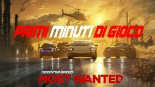 Need For Speed Most Wanted Gameplay ITA Primi minuti di gioco